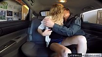 Broke Teen Rachel James fucks for ride facial