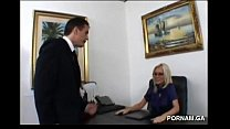 office the on fucked get milf sexy Angelina