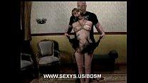 Whipped and hard bondage orgasms