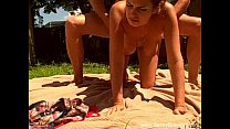 Outdoor Sunshine Amateur Fuck Fun