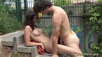 young german couple public sex