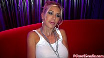 euro babe puma swede fuck nicole in the vip room