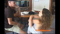 Teen feeds her girlfriend some SPERM