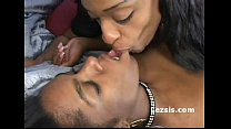 big boob ebony freak dominated kinky black lesbian and strap on fucks her doggy