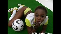 teasing girl island ebony exotic and Sporty