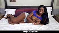 TeenyBlack - Oiled Up Ebony Loves To Fuck