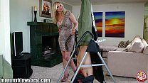 MommyBB Busty MILF Julia Ann is sucking my tied...