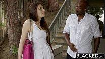 wood zoe gf pretty for interracial first Blacked