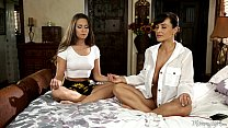 naked meditation with lisa ann and cassidy klein