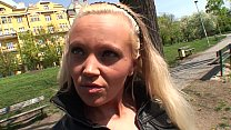 small czech babe with a big black cock