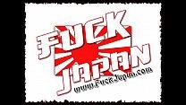 Japanese powder puff takes dick
