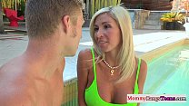 anal time first stepteens watches Mommy