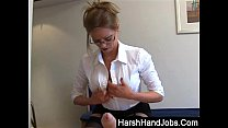 harsh handjobs from holly kiss