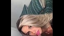 Brazillian Blondie sucking a bick cock - Whats ...