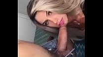... whats - cock bick a sucking blondie Brazillian