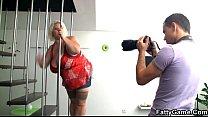 photographer a fucks fatty Blonde