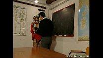 Teacher fucks 2 students porn videos