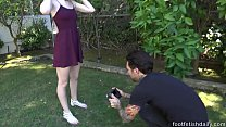 cum agents casting the swallows rader lily cute - -x Castingcouch