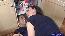 plumber by pounded milf Classy