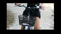 public nudity bicycle riding babe porn videos