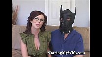 Hot Wife's Hubby Is A Piggy thumbnail
