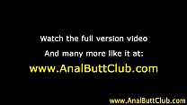 masturbating anal bitch uses toy