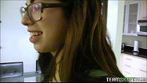 Cute Hipster Teen With Glasses Ava Taylor Loves...