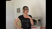 Lana fuck with a stranger in kitchen! French amateur thumbnail
