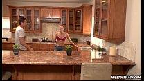 Tori Black fucked in kitchen porn videos
