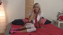 Schoolgirl Pinky June fucked by pizza delivery boy porn videos