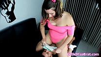 bp072 sissy roommate punishment dirty facesitting on girl