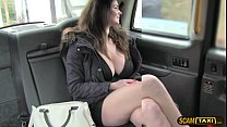 hottie tasha gets banged in missionary by the drivers big dick