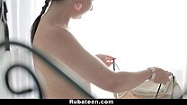 RubATeen - Russian Chick Gets Ass Fingered and Fucked porn videos