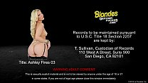 prick large a takes fires ashley Blonde