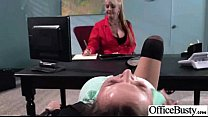 Sex On Cam In Office With Naughty Busty Slut Girl (krissy lynn) vid-27 thumbnail