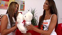 Mili Jay and Suzie Carina get naked and fondle ...