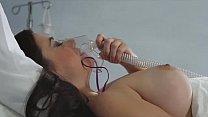 Sexy nurse Kirsten checks Taylor Vixen's temper...