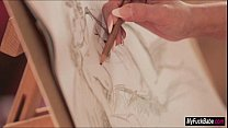 Stepmom Summer paints Diore before and after a ...