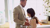 Passion-HD - Huge cumshot for sexy lean brunette Ava Taylor