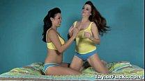 Lesbian Panty Fun With Taylor Vixen