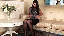 stockings in milf petite Gorgeous