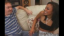 Black Asian Mix Hottie Wife Swallows!