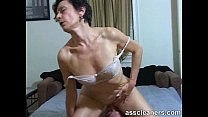 Horny MILF facesits a slave for ass licking and...