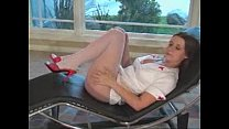 pantyhose white in erica Nurse