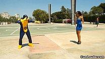 parody xxx cyclops a in riding jones sasha Latina