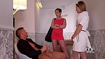 DDF Network Horny maid and wife drain a Husband...