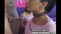 hot fit brunette tori lane gives her fan cuban a handjob