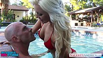 superb cameron dee fuck in the pool