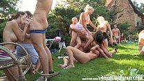Amateur Massive Open Air Orgy