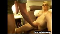 Skinny blonde wife gets fucked